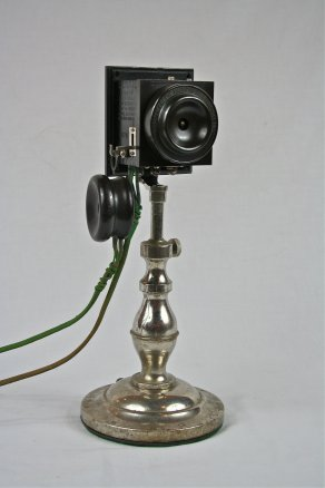 1894 Western Electric Company No. 1 speaking tube desk telephone