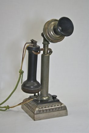 1898 Connecticut Telephone and Electric Company fluted shaft