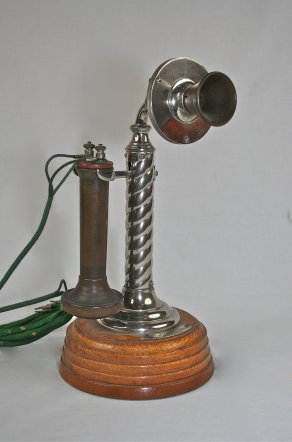 1896 Standard Telephone & Electric Co. rope shaft